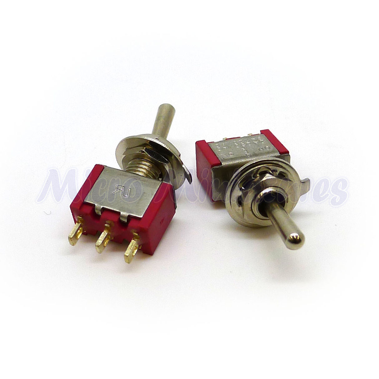 Spst On On Miniature Toggle Switch Micro Miniatures
