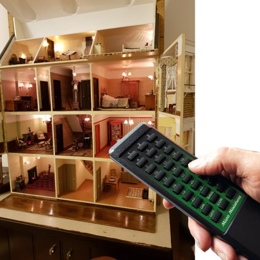 Remote Controlled Dolls House Lighting