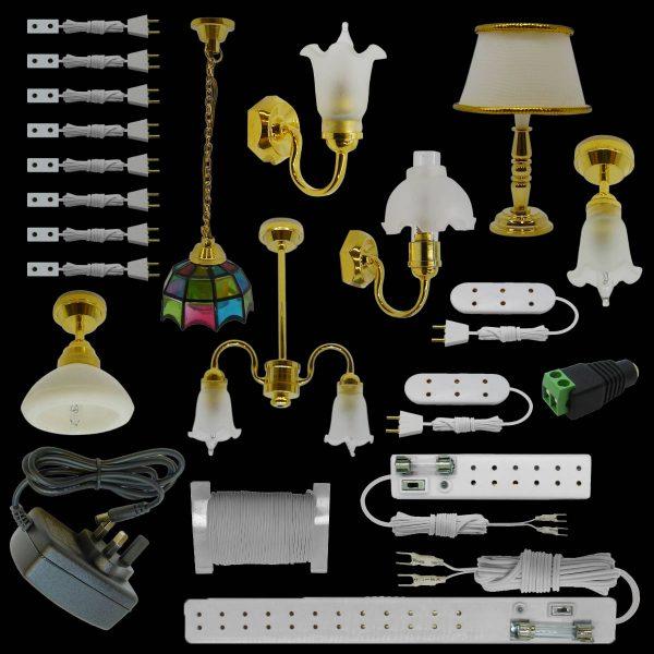 dolls house lighting starter kits